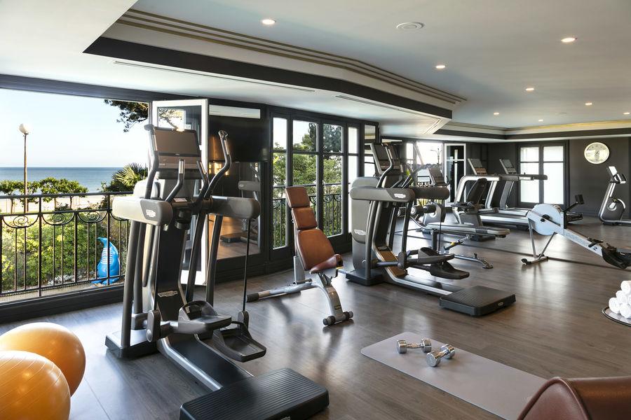 L'Hermitage ***** Salle de fitness