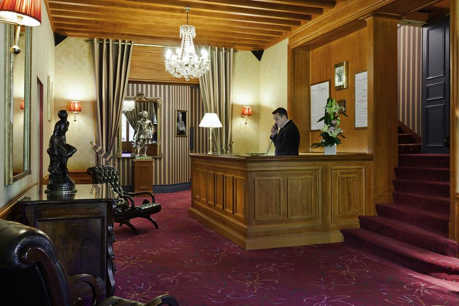 Le Castel Marie-Louise ***** Réception