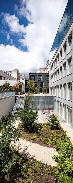 Deskopolitan Voltaire Jardin privé