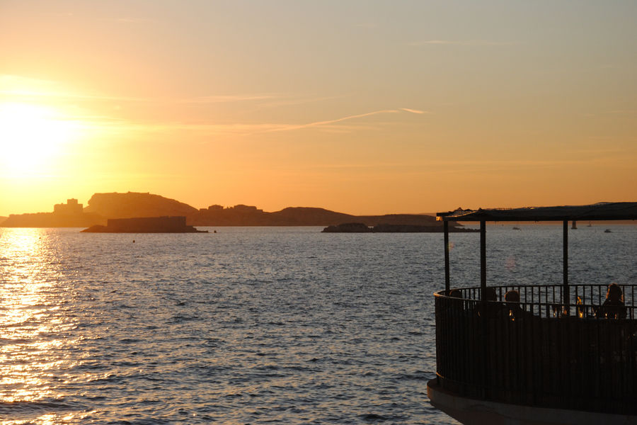Sporting Club Corniche Coucher de soleil - Terrasse