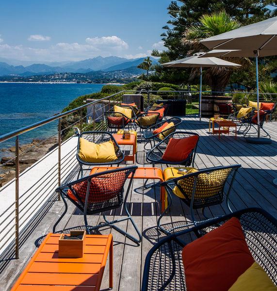 Sofitel Golfe d'Ajaccio Thalassa Sea & Spa ***** Les jardins de l'hôtel