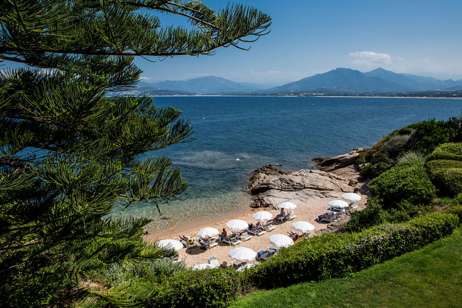 Sofitel Golfe d'Ajaccio Thalassa Sea & Spa ***** Plage privative
