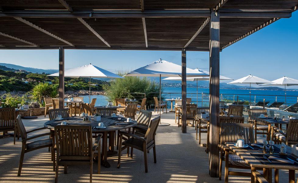 Sofitel Golfe d'Ajaccio Thalassa Sea & Spa ***** Le restaurant face à la mer