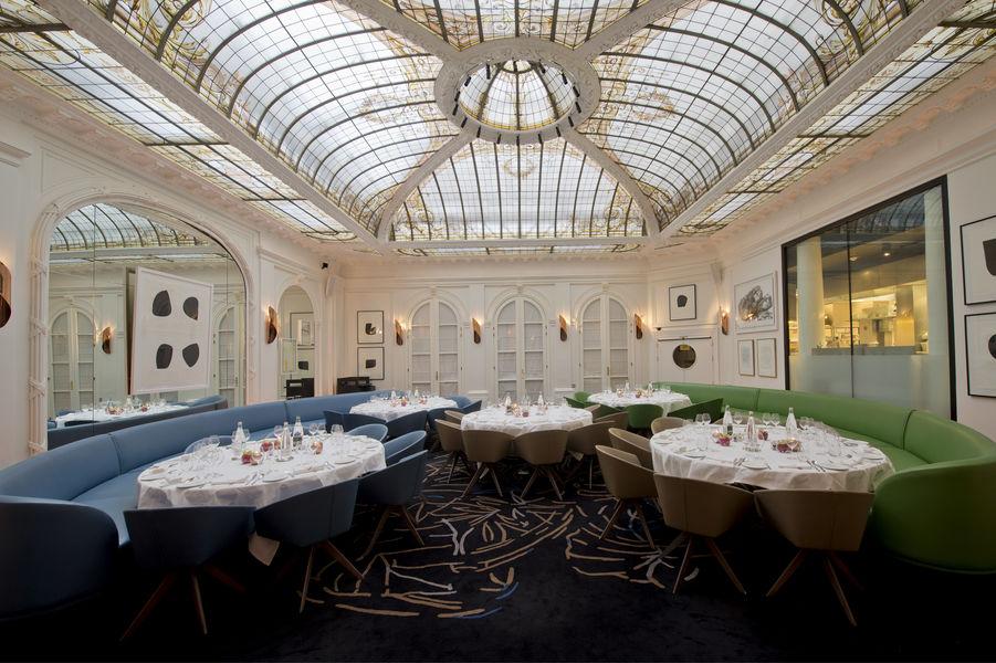 Hôtel Vernet ***** Restaurant  - Tables rondes