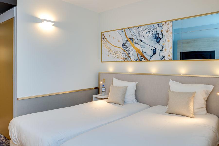 Brit Hotel Orléans St Jean de Braye - L'Antarès *** Chambre Confort Twin