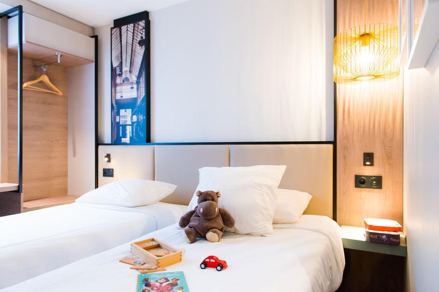 Brit Hotel Brest Le Relecq Kerhuon *** Chambre twin