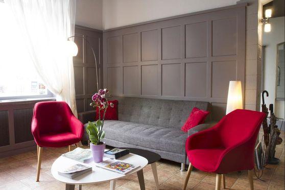 Espace commun du Brit Hotel Roanne