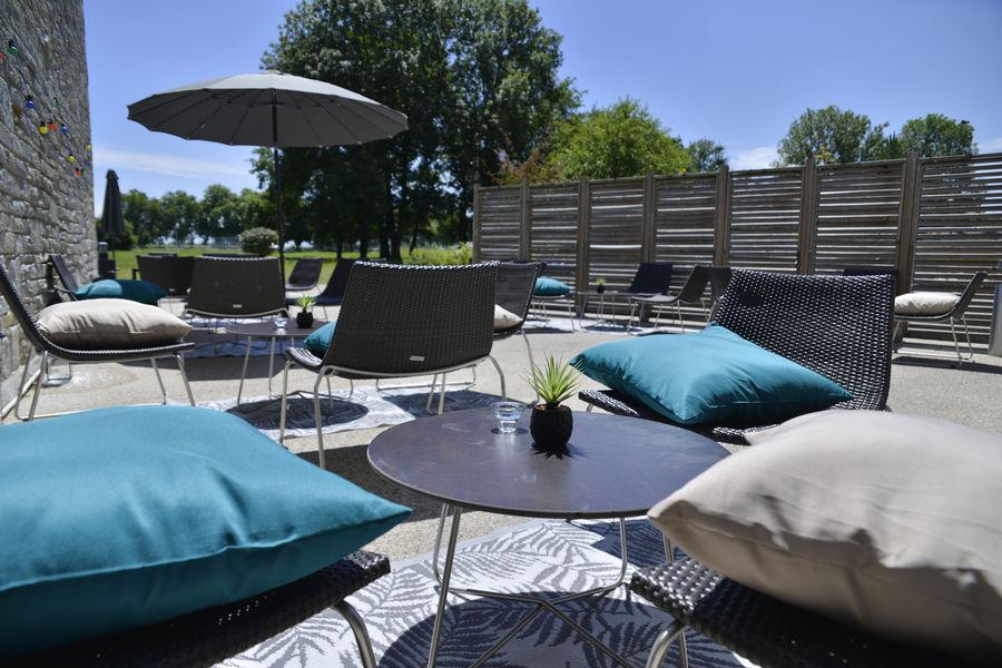 Villa du Lac *** terrasse bar