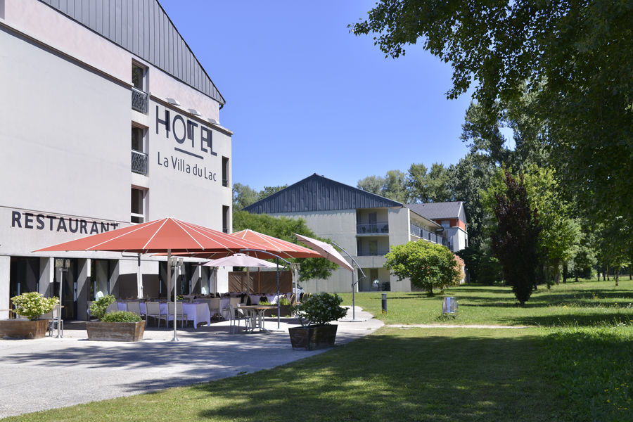 Villa du Lac *** terrasse restaurant