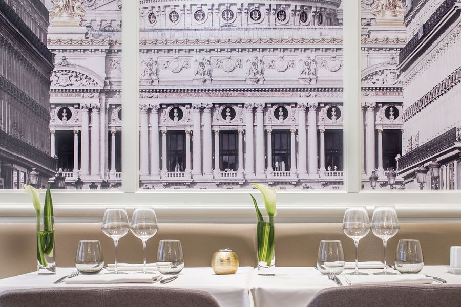 Hôtel Edouard 7 **** Restaurant - photo Opéra Garnier