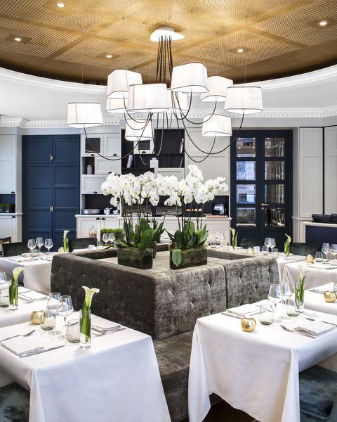 Hôtel Edouard 7 **** Restaurant La Cuisine de l'E7 - vue rotonde