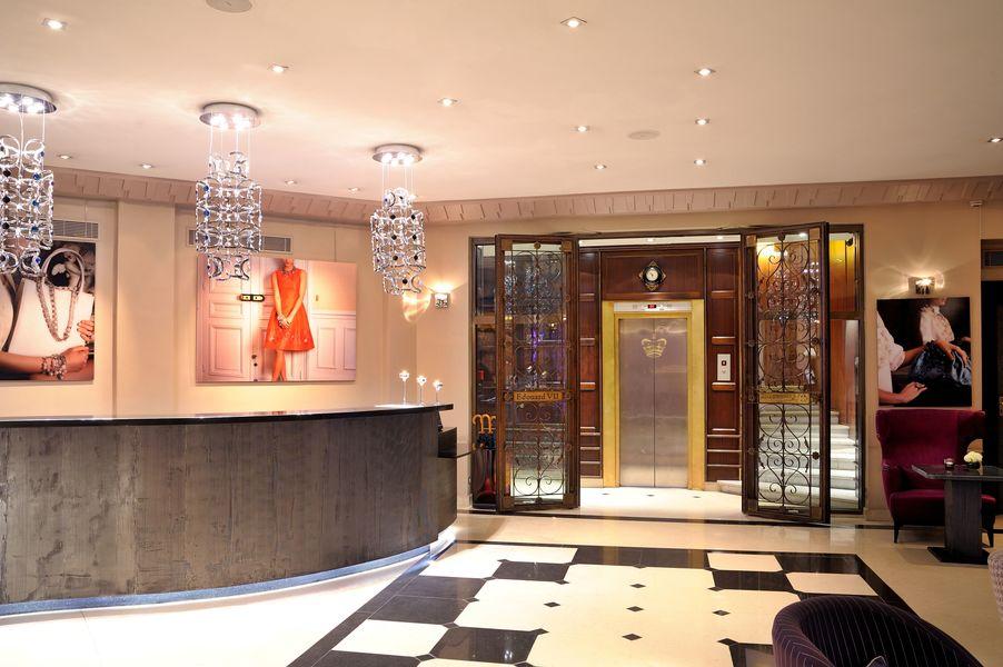 Hôtel Edouard 7 **** Lobby de l'hôtel Edouard 7