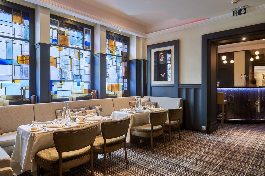 Hôtel Edouard 7 **** Salon Lounge - format déjeuner