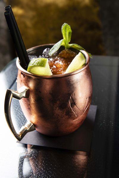Hôtel Edouard 7 **** Cocktail du bar de l'E7