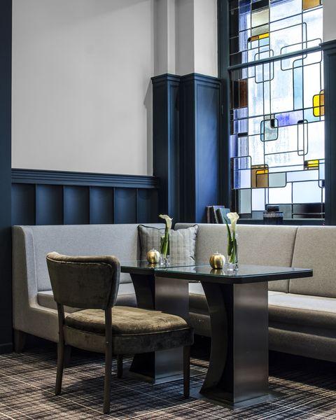 Hôtel Edouard 7 **** Coin cosy salon Lounge