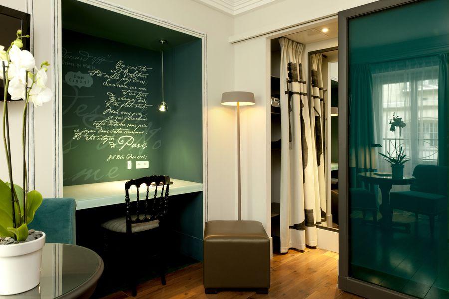 Hôtel Edouard 7 **** Chambre Classique collection Edouard 7 - Saphir