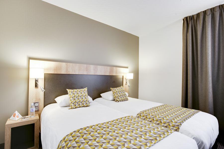 Brit Hotel Loches Chambre twin du Brit Hotel Loches