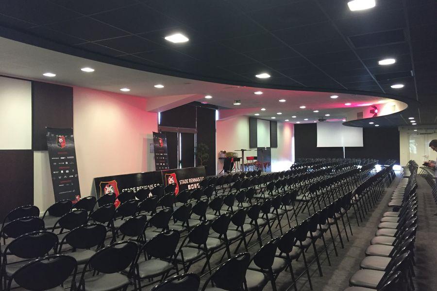 Roazhon Park Breizh Klub, configuration plénière
