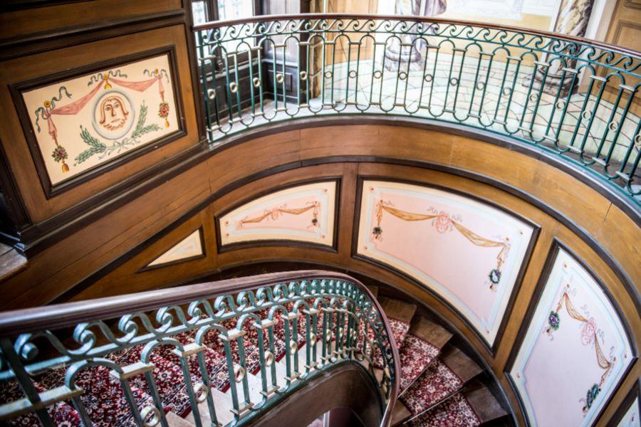 Château de la Gressière*** Escalier
