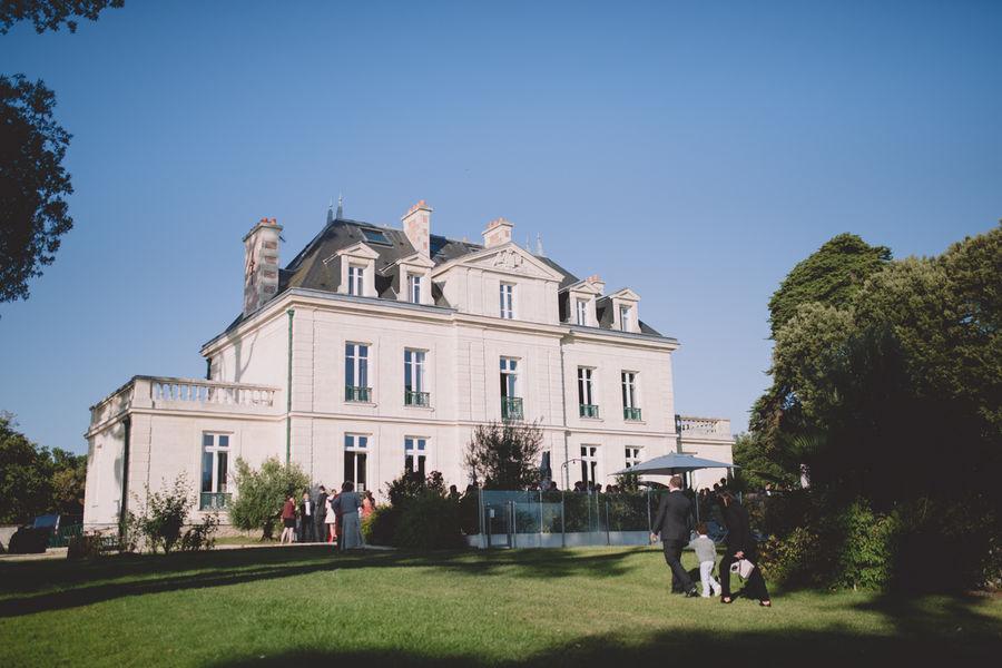 Château de la Gressière*** Vue du jardin