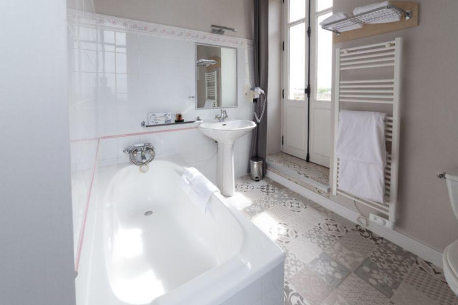 Château de la Gressière*** Salle de bain