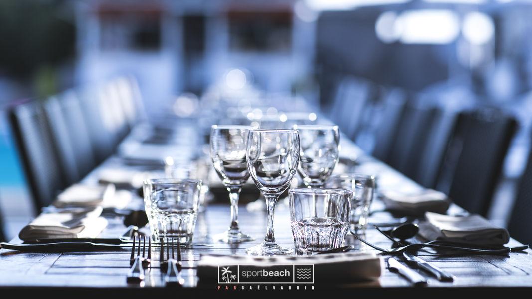 SportBeach Table dressée