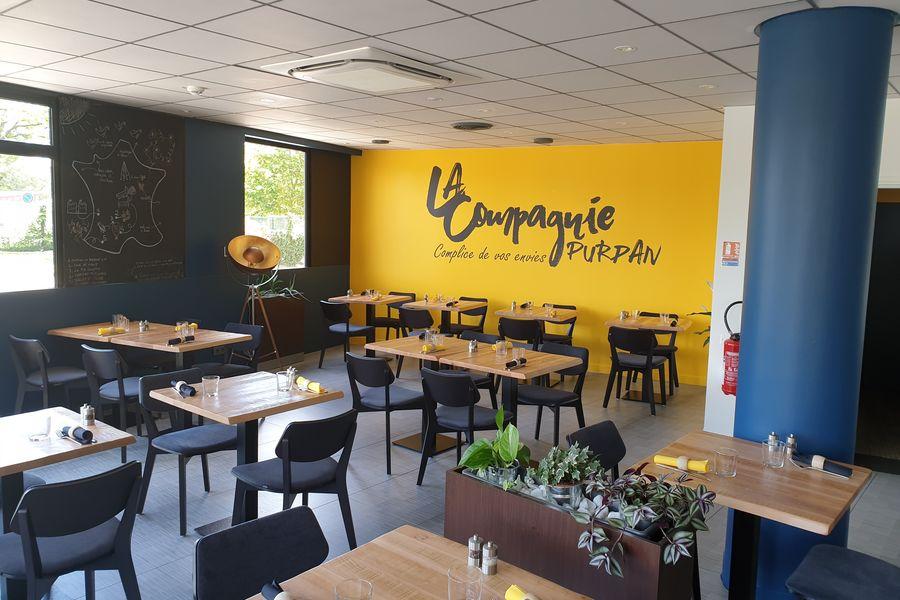 Ibis Toulouse Purpan Salle de restaurant