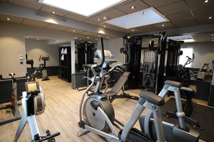 Splendid Hôtel *** Annecy Salle de fitness