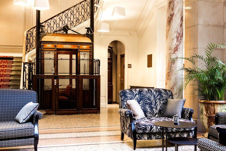 Hôtel Oceania Le Métropole **** Ascenseur d'époque