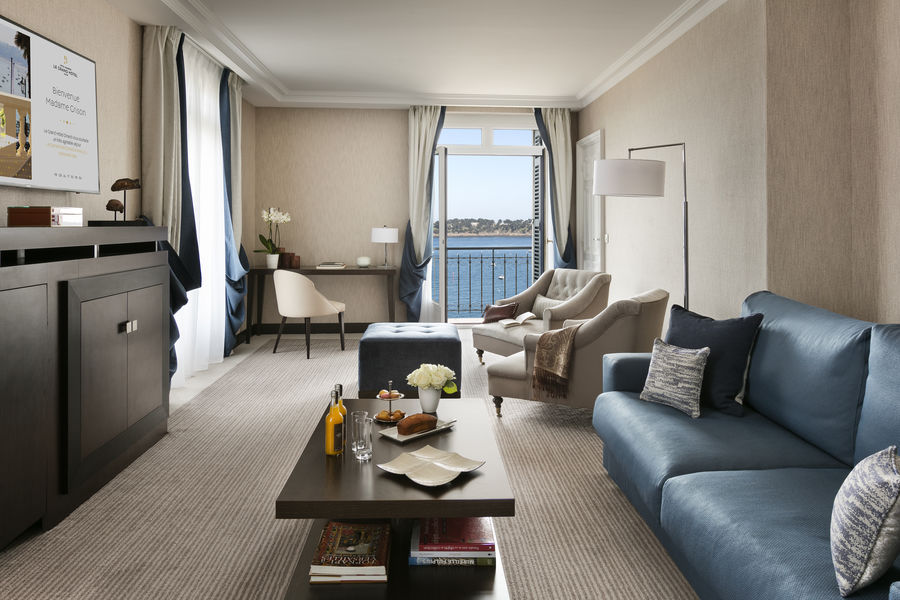 Hôtel Barrière Le Grand Hôtel Dinard ***** Suite Prestige Mer