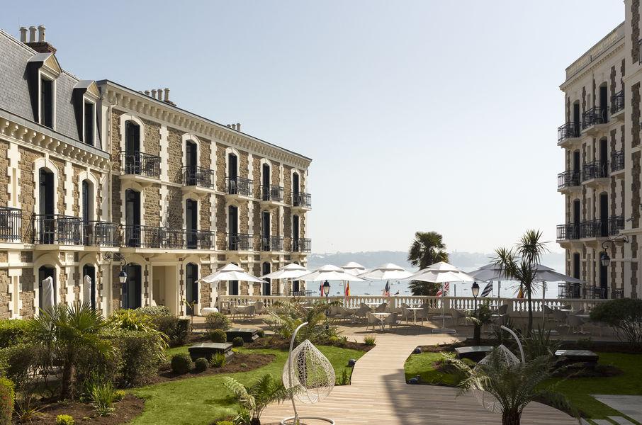 Hôtel Barrière Le Grand Hôtel Dinard ***** Jardin du Grand Hôtel