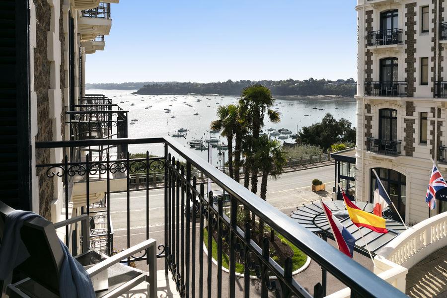 Hôtel Barrière Le Grand Hôtel Dinard ***** Chambre avec vue mer