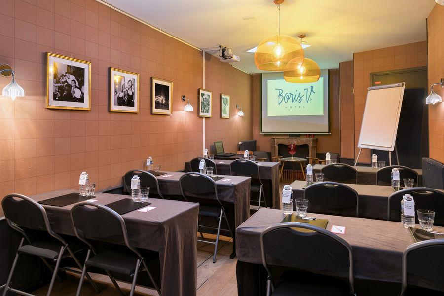 Hôtel Boris V. by Happyculture Salle Boris V.