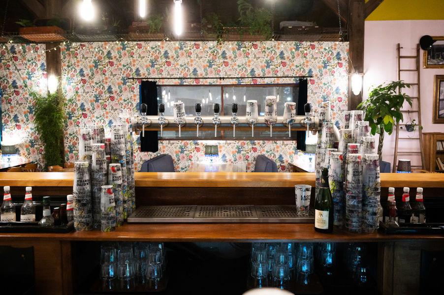 Cité Fertile La source - le bar intérieur