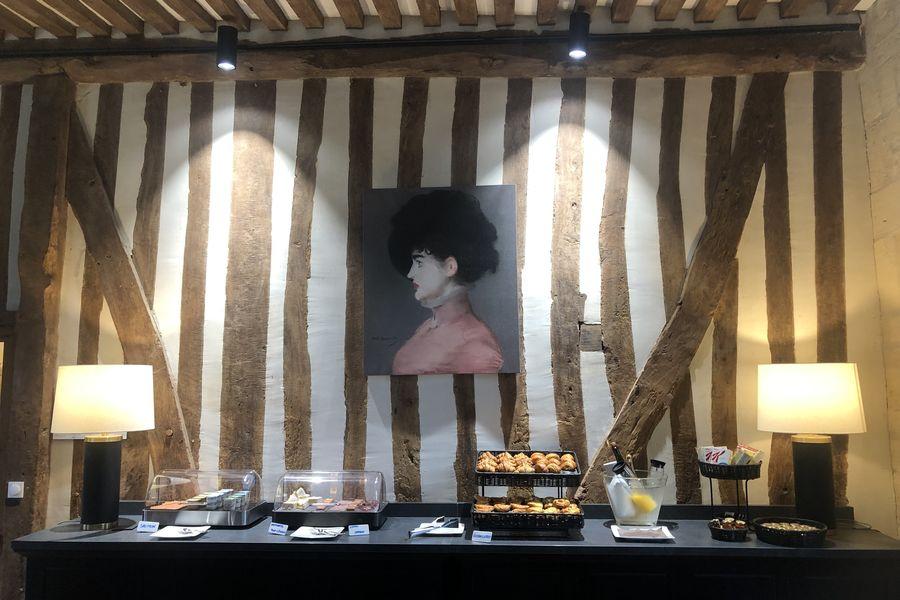 Les Manoirs des Portes de Deauville Petit déjeuné