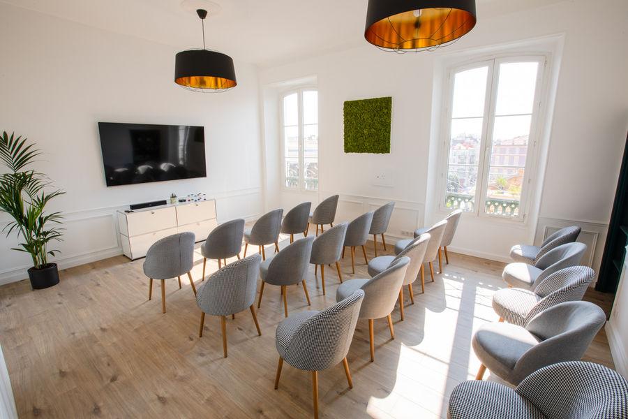 L'appartement KZN Configuration conférence