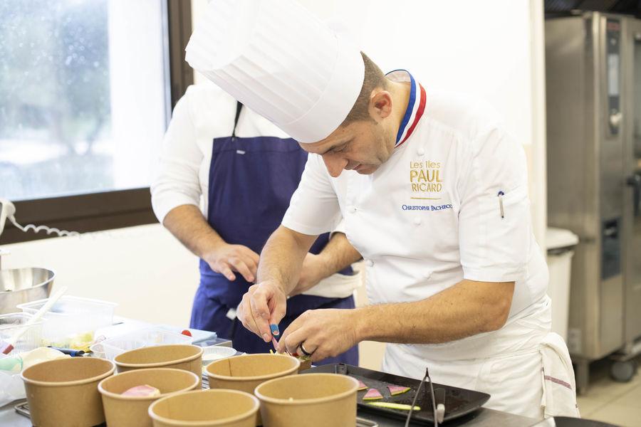 Les Îles Paul Ricard - Hôtel Hélios Embiez **** Chef Exécutif, Christophe Pacheco, un des Meilleurs Ouvriers de France