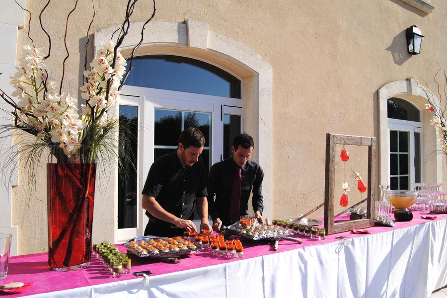 Hôtel Le Mas des Sables *** Buffet à la Villa