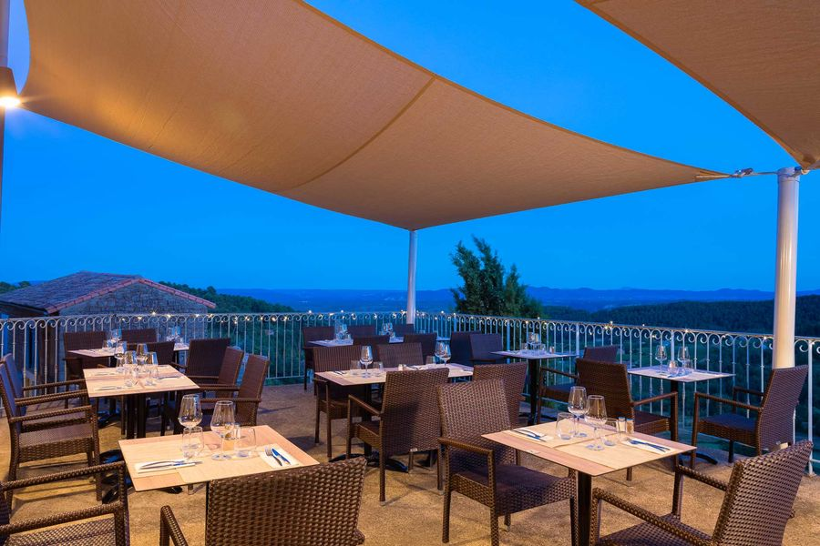 La Bastide de Sanilhac Terrasse du restaurant