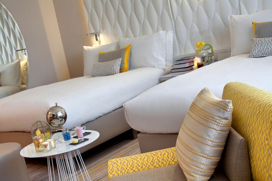 Renaissance Aix-en-Provence Hôtel ***** Chambre familiale twin 2 lits doubles