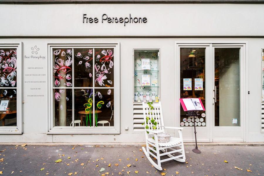 Free Persephone Devanture