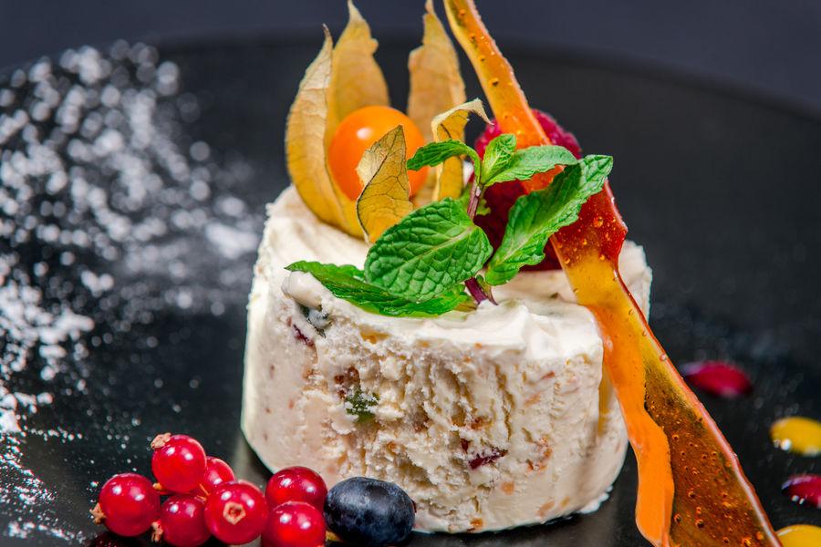 Brit Hotel  La Rochelle – La Brasserie du Cap *** Dessert du Brit Hotel La Rochelle – La Brasserie du Cap ***