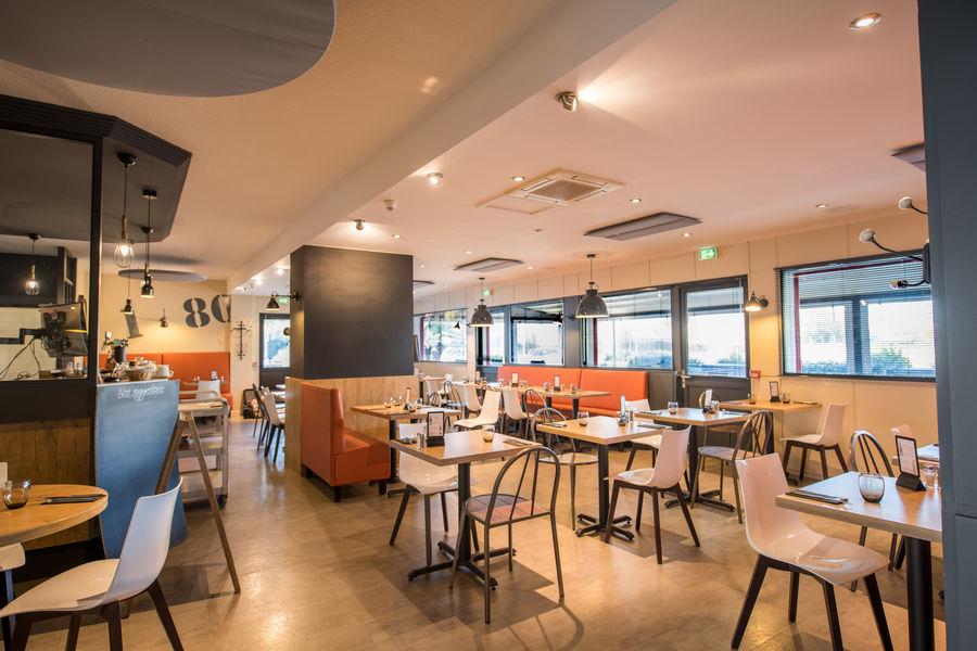 Brit Hotel  La Rochelle – La Brasserie du Cap *** Salle de petit déjeuner du Brit Hotel La Rochelle – La Brasserie du Cap ***