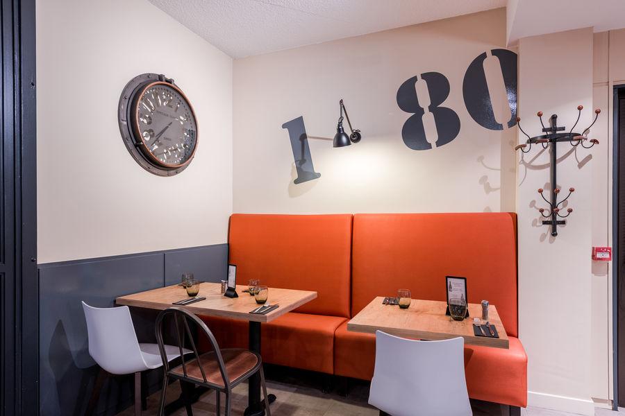 Brit Hotel  La Rochelle – La Brasserie du Cap *** Restaurant du Brit Hotel La Rochelle – La Brasserie du Cap ***