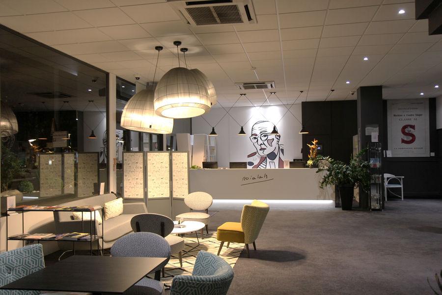 Best Western Plus Hotel Littéraire Alexandre Vialatte **** réception
