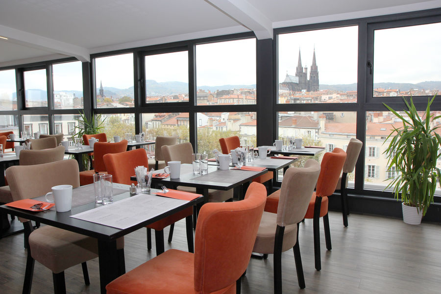 Best Western Plus Hotel Littéraire Alexandre Vialatte **** Salle petit déjeuner