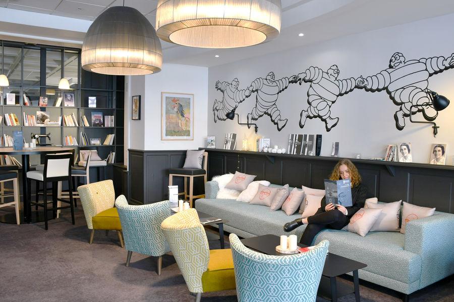 Best Western Plus Hotel Littéraire Alexandre Vialatte **** espace coworking