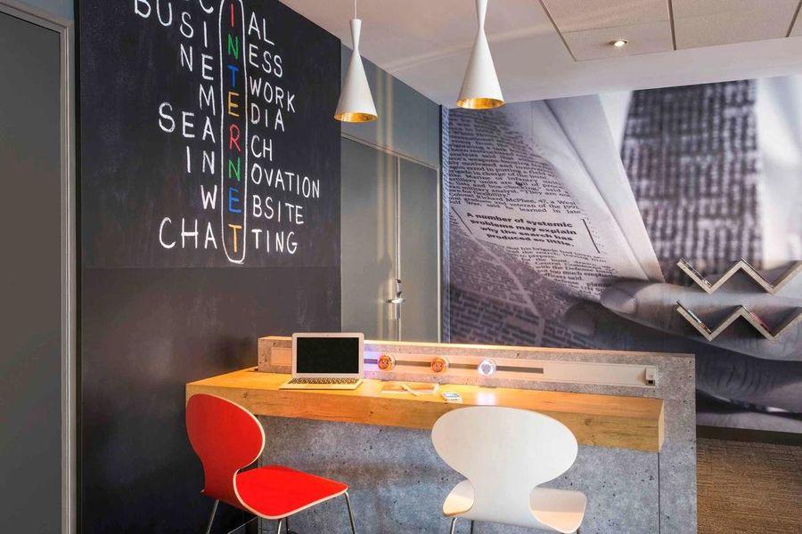  Ibis Nantes Centre Gare Sud *** Business Center