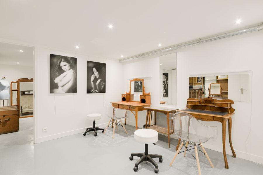 Atelier Fabrique Loge make-up, vestiaire