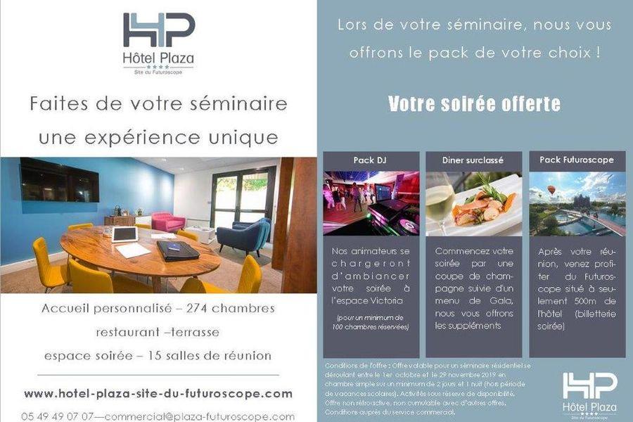 Hôtel Plaza - Futuroscope **** Offre
